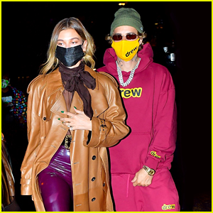 Justin Bieber Meets Up with Hailey for Dinner After 'SNL' Rehearsals