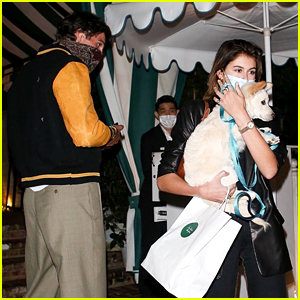 Kaia Gerber Brings Her Dog to Dinner with Jacob Elordi