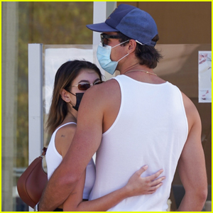 Kaia Gerber & Jacob Elordi Wrap Their Arms Around Each Other During Coffee Run!