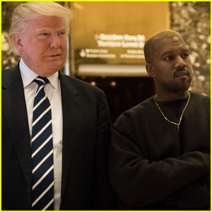 Kanye West Sends Well Wishes to Donald Trump After Coronavirus Diagnosis