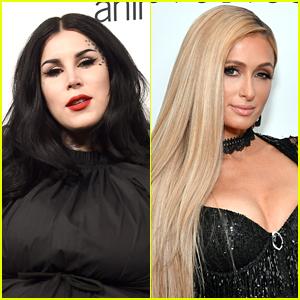 Kat Von D Went Through The Same Abuse at the Same School as Paris Hilton Did