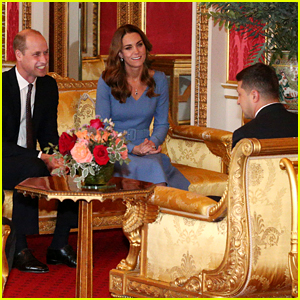 Kate Middleton & Prince William Step In for Queen Elizabeth for Meeting with Ukraine
