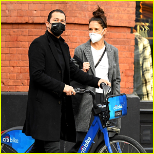 Katie Holmes & Emilio Vitolo Run Some Errands Together in NYC