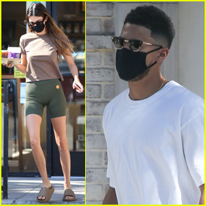 Kendall Jenner & Boyfriend Devin Booker Head Out on Coffee Run in Beverly Hills