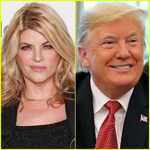 Kirstie Alley Says She's Voting for Donald Trump, Celebrities Respond in Her Mentions