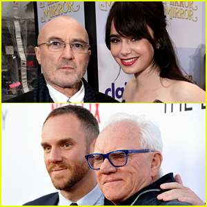 Lily Collins Reveals If Her Famous Father Has Met Fiance Charlie McDowell's Famous Father Yet