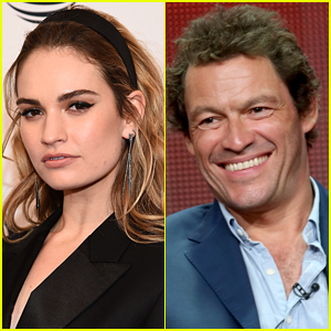 There's Another Connection Between Lily James & Dominic West