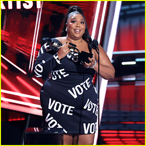 Lizzo Wears 'VOTE' Dress, Makes Statement on Suppression at Billboard Music Awards 2020 (Video)