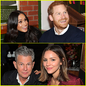 Meghan Markle & Prince Harry Went On a Double Date This Week with Katharine McPhee & David Foster!