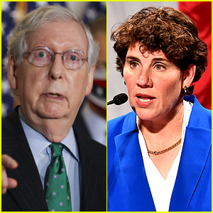 Mitch McConnell Laughed While Being Called Out for Lack of Action on Coronavirus in Debate with Amy McGrath