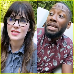 Zooey Deschanel Reunites with 'New Girl' Co-Stars to Encourage Fans to Vote - Watch!