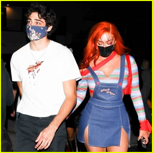 Noah Centineo & Stassie Karanikolaou Couple Up for Another Halloween Party!