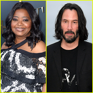 Octavia Spencer Goes To See All Of Keanu Reeves Movies For This Cute Reason
