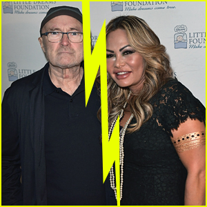Phil Collins Splits Up With Wife Orianne For Second Time & Reportedly Sent Eviction Notice After Her Refusal To Move