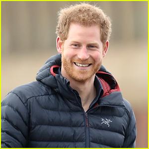 Prince Harry Surprises London Marathon Runners in Los Angeles