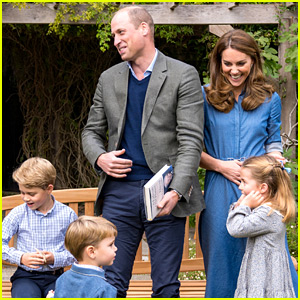 Prince William & Kate Middleton's Kids Speak Out Publicly for First Time (Video)