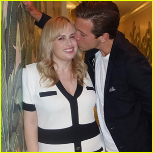 Rebel Wilson Gets Kiss From Boyfriend Jacob Busch During Date Night!