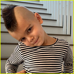 Scott Disick & Kourtney Kardashian's Son Reign Has a Mohawk Now!