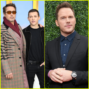 Robert Downey Jr. Seemingly Photoshops Tom Holland Out of Photo to Defend Chris Pratt