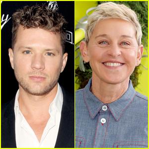 Ryan Phillippe Throws Some Shade at Ellen DeGeneres