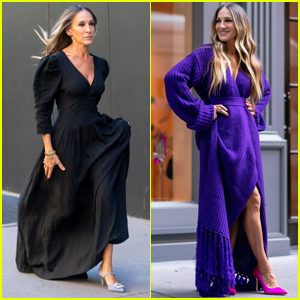 Sarah Jessica Parker Poses in Front of Her Shoe Store for New Photo Shoot!