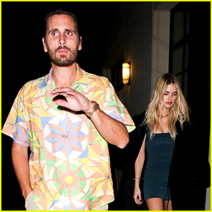 Scott Disick Spotted On a Date with Model Megan Blake Irwin (Photos)