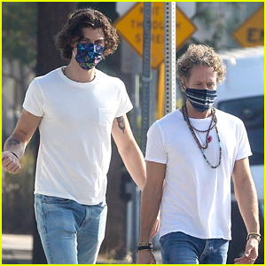 Shawn Mendes Steps Out in L.A. with Tour Manager Cez Darke