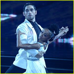 Skai Jackson Earns First 10 of 'DWTS' Season for Dance Dedicated to Cameron Boyce