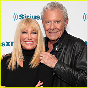 Suzanne Somers Reveals How She & Her Husband Fell Down The Stairs Together