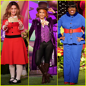 'The Talk' Hosts Dress Up as 'Willy Wonka' Characters for Their Halloween Episode