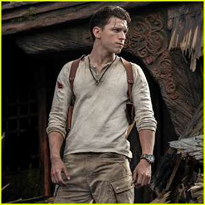 Tom Holland as Nathan Drake in 'Uncharted' Movie - See the First Look!