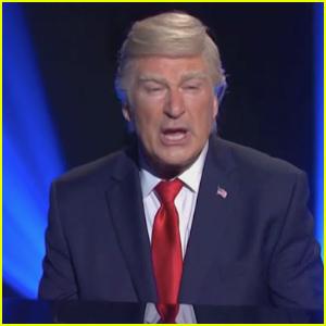 Alec Baldwin Imagines Trump's Concession Speech in 'SNL' Cold Open - Watch!