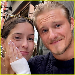 'Vikings' & 'Hunger Games' Star Alexander Ludwig Is Engaged to Lauren Dear!