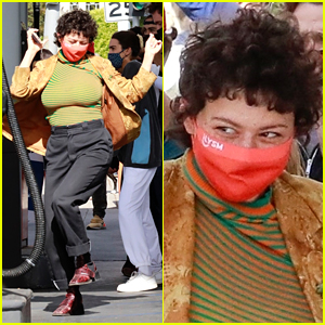These Photos of Alia Shawkat Dancing in the L.A. Streets to Celebrate Biden's Win Are Pure Joy!