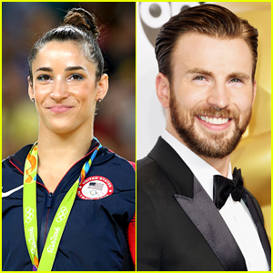 Chris Evans & Olympian Aly Raisman's Dogs Had a Play Date & There's Video!