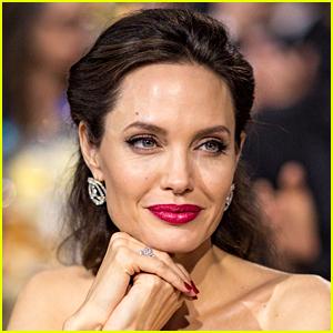 Angelina Jolie Lines Up Her