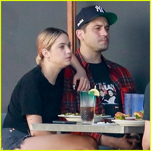 Ashley Benson & G-Eazy Keep Close While Out to Lunch in L.A.