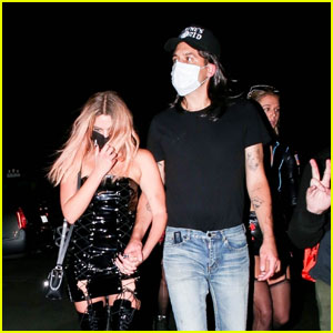 Ashley Benson & G-Eazy Party for Halloween in LA