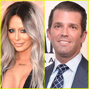 Aubrey O'Day Says Donald Trump Jr. Wanted to Have Her Baby in Racy Tweet