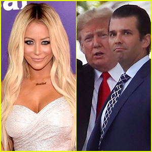 Aubrey O'Day Reacts to Ex Donald Trump Jr. Getting Infected with COVID-19