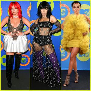 Bebe Rexha, Doja Cat & Rita Ora Stun In Hot Looks at MTV EMAs 2020