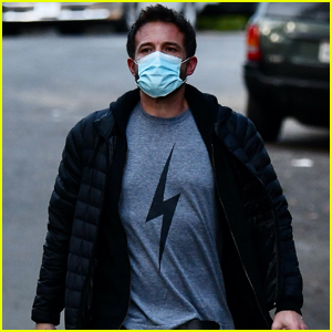Ben Affleck Stays Safe in a Face Mask While On a Morning Walk