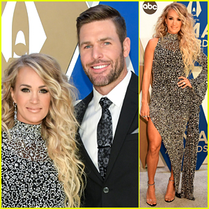 Carrie Underwood Wows at CMA Awards 2020, Husband Mike Fisher Joins Her on Carpet