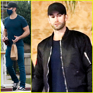 Chace Crawford Was Spotted a Couple Times This Past Weekend in L.A.