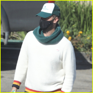 Chris Martin Steps Out in a Mask to Grab Essentials in Malibu