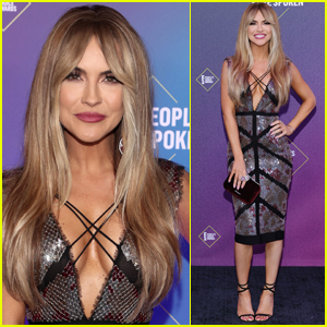 Chrishell Stause Debuts New Hair Style at People's Choice Awards 2020
