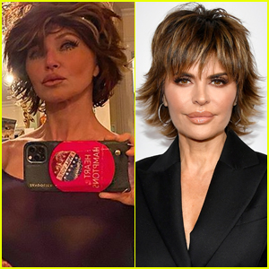 Christie Brinkley Transformed Into Lisa Rinna for Halloween!