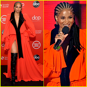Ciara Is Red Hot While Presenting at American Music Awards 2020!
