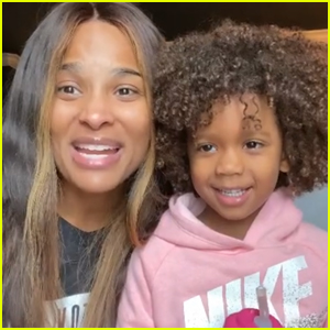 Ciara's Daughter Sienna Has the Cutest Reaction to Kamala Harris' Historic Win - Watch!