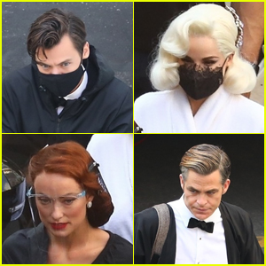 Harry Styles, Chris Pine & More Get Back to Work Filming 'Don't Worry Darling'